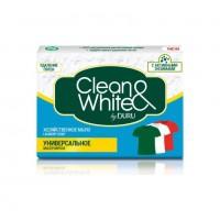 DURU CLEAN&WHITE мыло хоз.Унив. 125г*1шт.***48